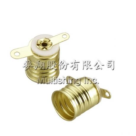 E10-S4 螺口燈座, E10-S4 Miniature Edison Screw Bases(Flashlight lamp)