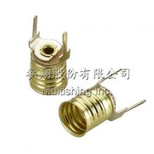 E10-S11 電路板燈座, E10-S11 Miniature Edison Screw Bases(Flashlight Lamp)
